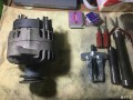 普桑更换发电机轴承