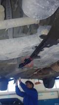保养机油四滤,右前下摆臂漏油