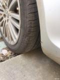 出17寸轮毂带胎