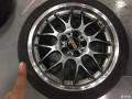 出BBSRS-GT轮毂加轮胎