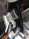 分享迈腾B8高配安装fitcam隐藏式行车记录仪教程