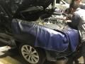 奥迪a6l清洗进气道进气口内积碳――车辆发抖解决了