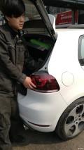 德产R20尾灯上车+包碳纤维耳朵