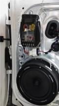 大庆春龙汽车音响改装大众途观升级艾索特MK165