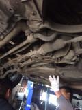 奔驰E260CGI换了机脚静多了