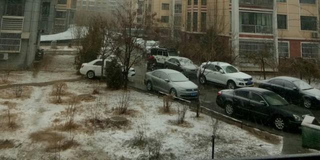 下雪啦,来过阴天,吃一道爽口菜
