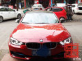 【温州左声道音响】BMW宝马3系四门隔音作业