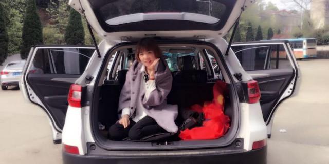 【长安CS75手豪白媳妇当车模】益阳风光-会龙山公园