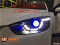 太原改车灯马自达CX-5改灯太原改装氙气灯太原改电尾门