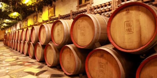 龙徽葡萄酒走一圈