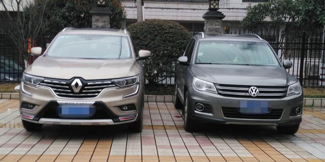 【全新一代科雷傲伴我同行】科雷傲与各款SUV外观对比