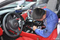 湖北武汉奔驰改装奔驰C级升级12.3寸大屏