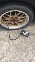 求全新或闲置的车用充气泵