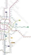 发几张2020年的地铁通车线网图,和大家息息相关哈