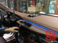【温州左声道汽车音响改装】宝马X6B&O升降中置喇叭音响
