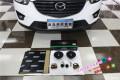 青岛汽车音响改装马自达CX-5无损换装瑞典DLS喇叭