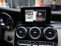 深圳奔驰C级改装360全景行车记录仪倒车影像