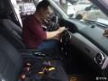 上海轩音奔驰GLK300汽车音响改装8音度X3SDSP