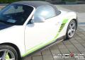 保时捷卡曼987改装GT3包围,改装车低调上路~
