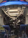 宝马3系改装AOOAS中尾阀门排气