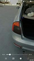 明锐10到14款尾灯是LED的改刹车大C和呼吸尾灯