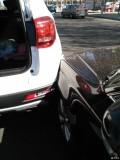 车被追尾了,帮我分析一下右后轮的悬挂会不会有问题?
