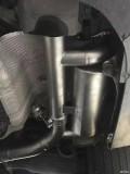 奔驰新C级W205升级中尾段可变阀门排气