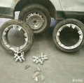高速行车轮毂断裂飞出,这等怪事大家很少听说吧!