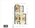 个人出租当代城市家园两居室一套