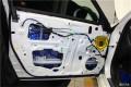 丰田皇冠车主升级绅士宝顶级两分频---江门车元素