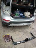 安装拖车杠和车台