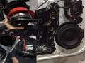 福特翼虎改装丹拿音响,柳州汽车音响改装,车音部落音响改装店