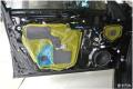 厦门丰田皇冠汽车音响隔音改装升级丹拿232怎么改在哪儿改
