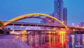 天津的桥,同意它很美的点赞