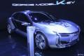 观致超级电动车ModelK-EV上海车展全球首秀