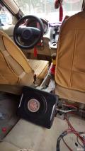 儋州堡达汽车音响改装,五菱宏光升级节奏之星X6低音炮,嗨爽直