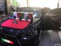 三菱翼神音响改装升级意大利ATI安徽黄山道声汽车音响改装
