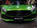 2017上海车展,那只绿色的梅赛德斯AMGGTR