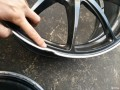 18寸5X112RaysG25锻造轮毂一个