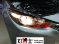 昂克赛拉车灯不够亮,新款昂克赛拉改灯升级GTR双光透镜氙气灯