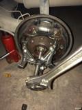 捷达后轮轴承加油保养