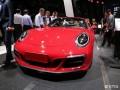 上海车展:保时捷新款911Targa4GTS亮相