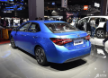关注上海国际车展小改款的雷凌正式亮相