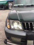 【光速车改】霸道车灯升级改装奥迪Q5双光透镜
