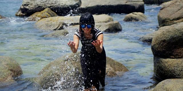 海边游记…美女与海的邂逅