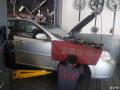 老凯越更换刹车盘前避震