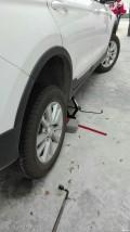 自己动手换车胎