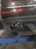 奥迪Q5刚改装排气管帅气分享