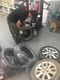 刚去途虎光谷店换了轮胎!服务还是不错的!
