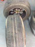 2011款BMW520Li更换固铂轮胎225/55/R17